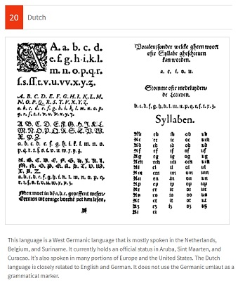 25 Of The Most Difficult Languages To Learn In The World_20_Dutch